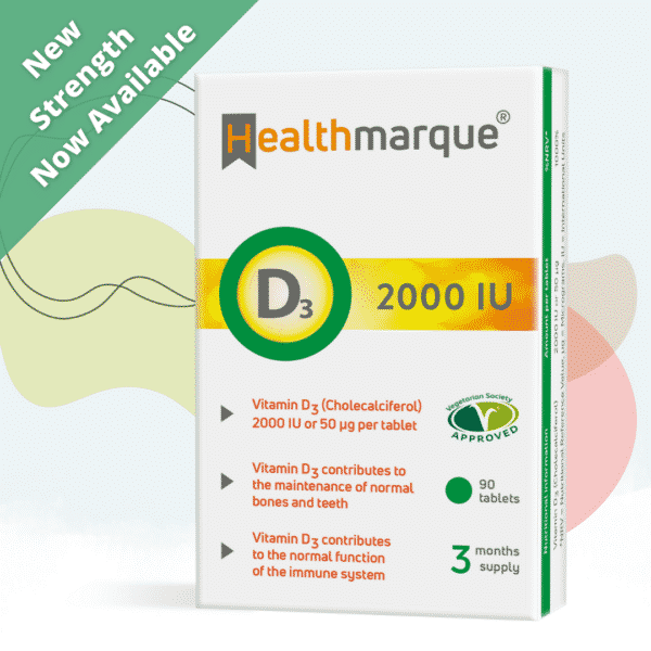 Vitamin D3 2000 IU New